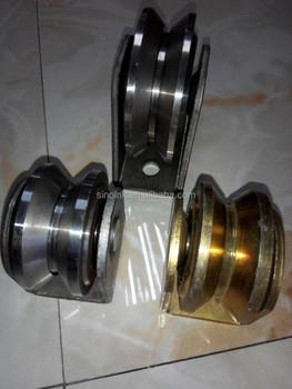 fer portail coulissant rouleau poulie de roue en acier kit pour portes 60 30 mm