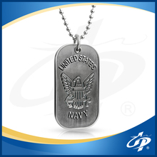 Free design custom high quality 2d anodized aluminum dog tag
