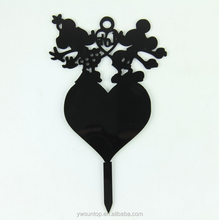 Cartoon Mickey Mouse Acrylic Cake Topper Birthday Decorations