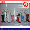 Fashion factory direct sale boots shoes key chain
