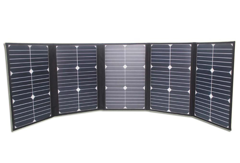 100w Portable Foldable High Efficiency Sunpower Solar