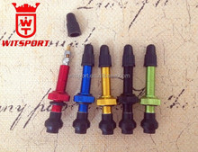CNC machined bicycle tubeless tyre valve anodized colored presta valve stem made in China