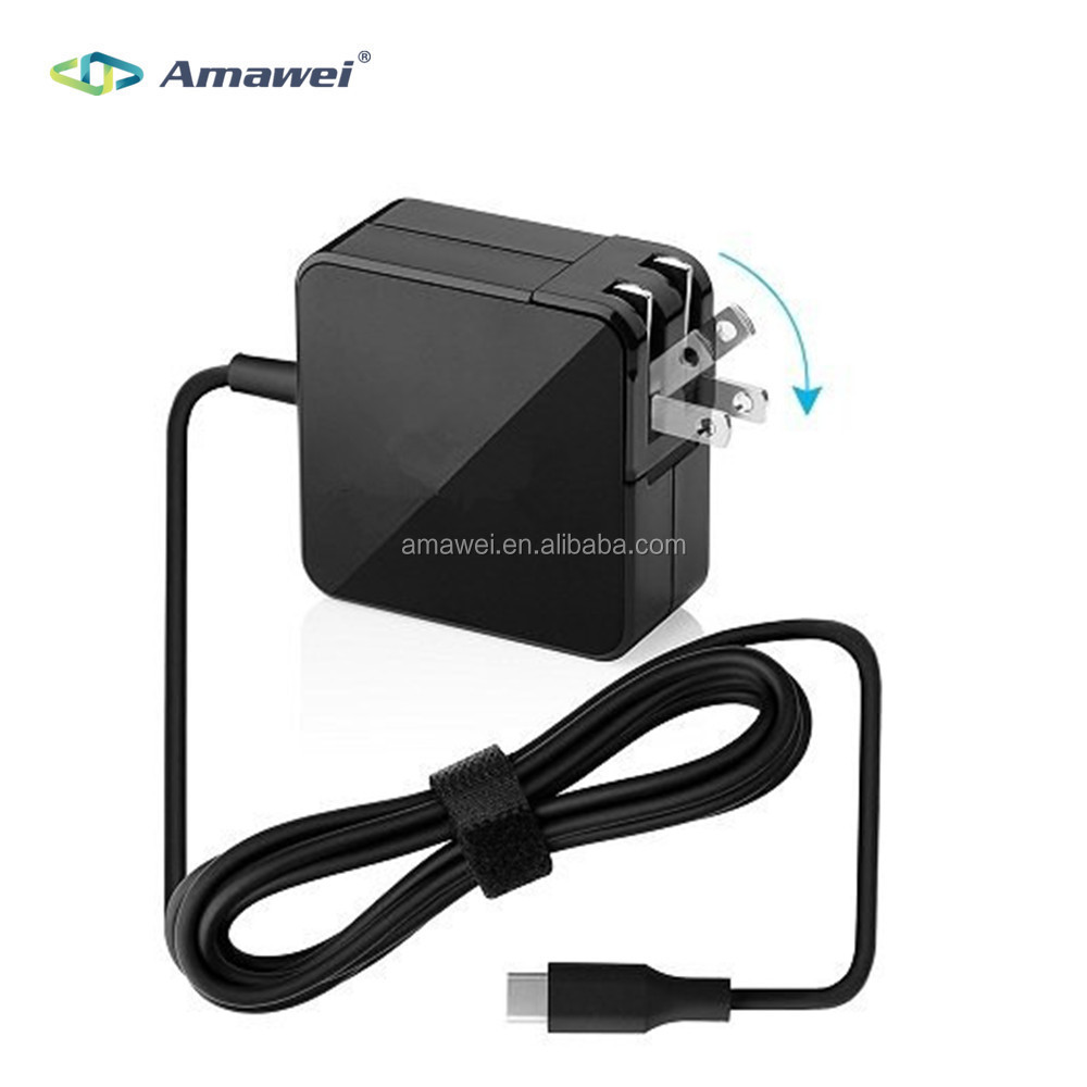 Manufacturer 20V 2.25A 45W USB Type C Adapter Charger Power Supply for Macbook Pro