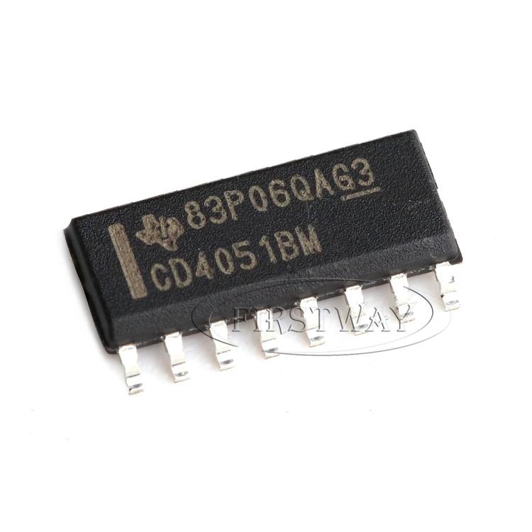 3 x CD4051 4051 IC CMOS MULTIPLEX//DEMULTIPLEXER FREE SHIPPING