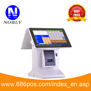 handy all in one touch screen cash register with POS software