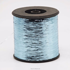 M type metallic yarn blue color thread lurex yarn