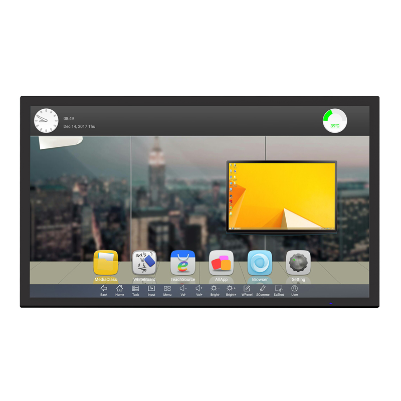 "Riotouch 65"" 86"" Projected Capacitive Touch Screen Monitor Multi touch 40 fingers PCAP touch monitor"