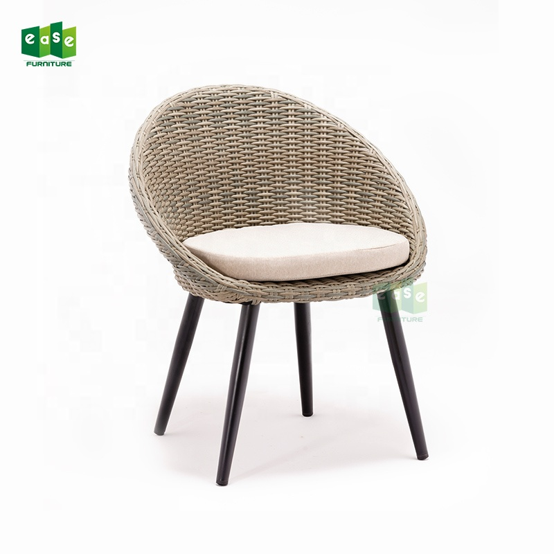 Latest Dining Chairs: New Design Egg Dining Chair Wood Legs Chairs With Cushion