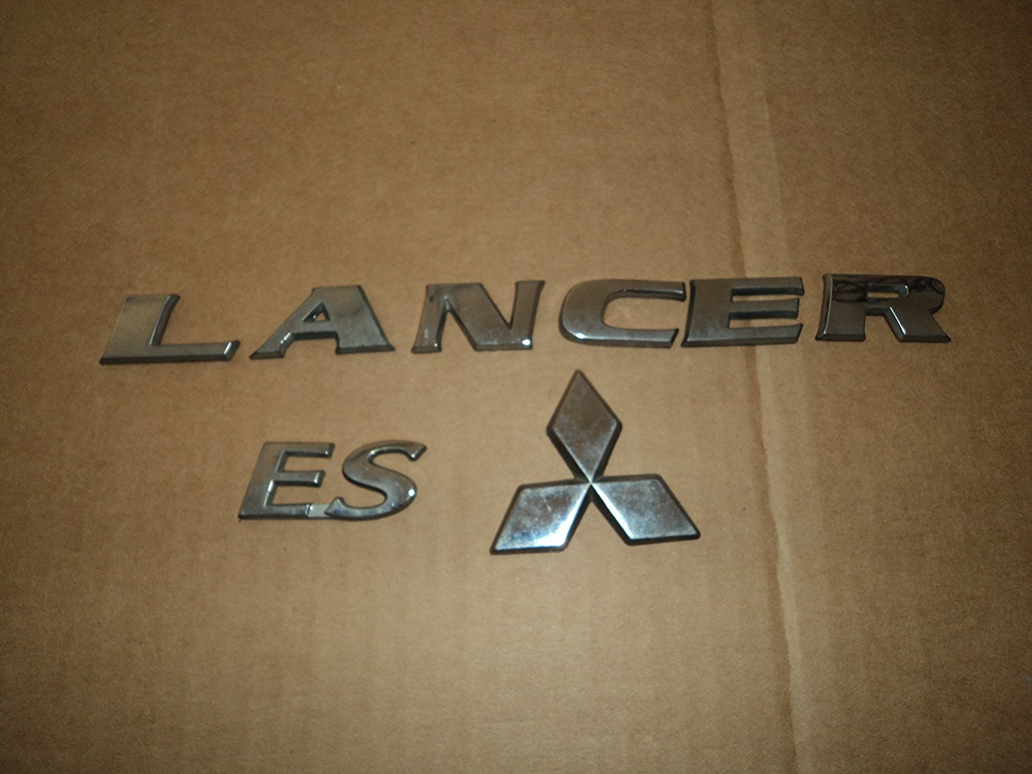 Buy Mitsubishi Lancer Ls Trunk Used Emblem Badge Decal Logo In Cheap