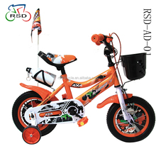 high quality children bike with basket and 4 wheels wanda tires bicycle/2018 new products hot seller children bike for kids