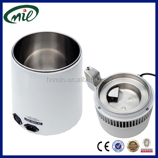 Stainless steel filter fresh water distiller manufactures distilled water 4L for dental laboratory