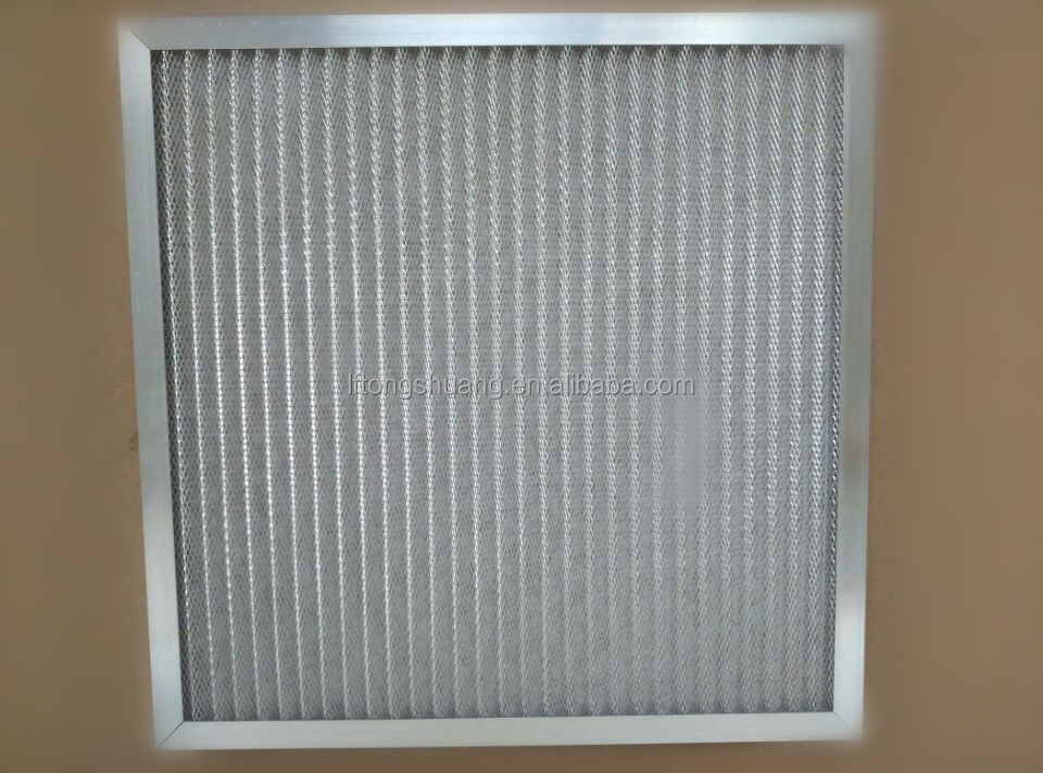 plate panel air filter