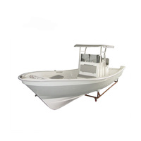 Liya 25ft deep v offshore fishing boats small fiberglass fishing boat