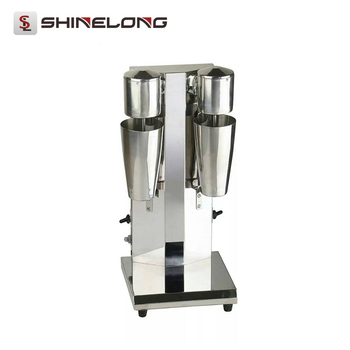 Electric Automatic Milk Shaker /Table Top Stainless Steel Milk Shake Blender Machine