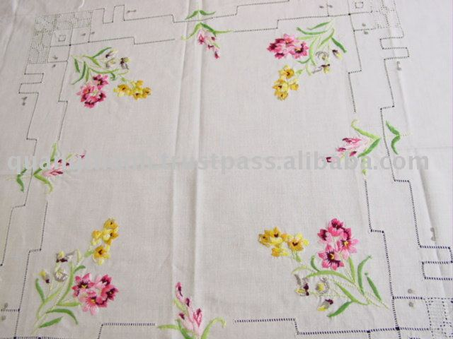 Embroidery Table Cloth Hand Handmade Product On Alibaba