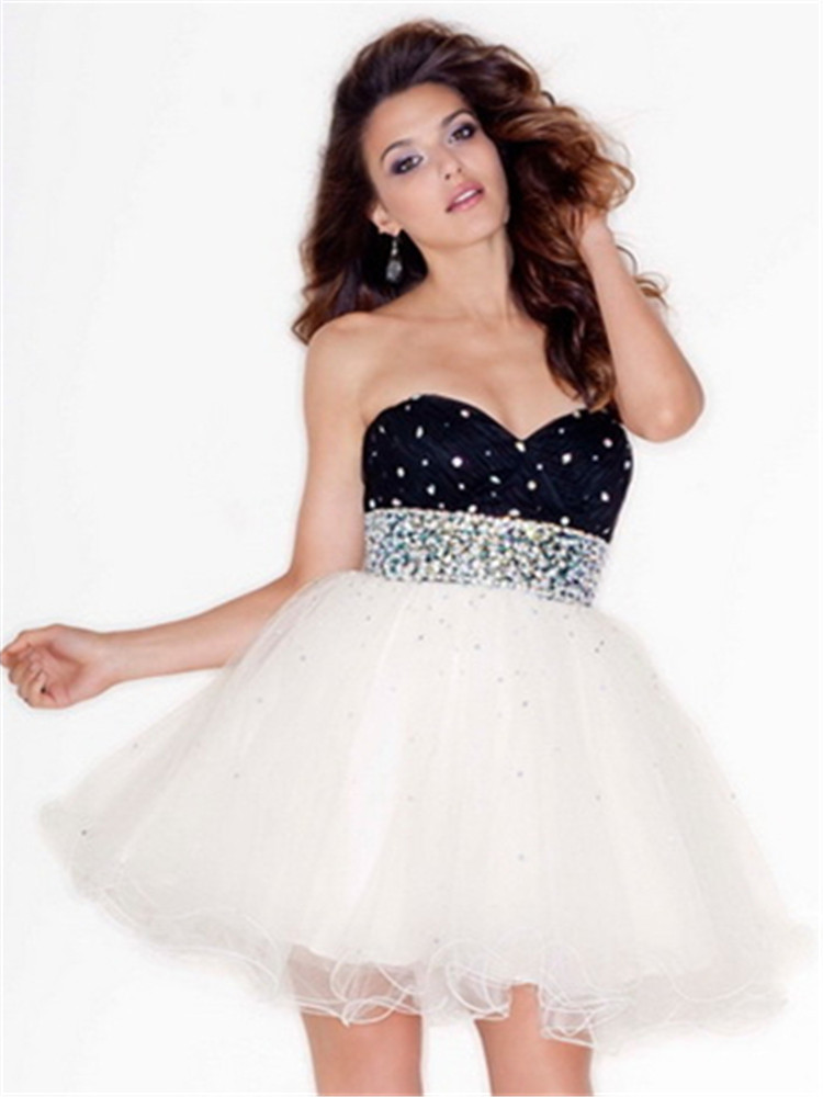 Buy Sweetheart Graduation Semi Formal Party 8th Grade Prom Dresses