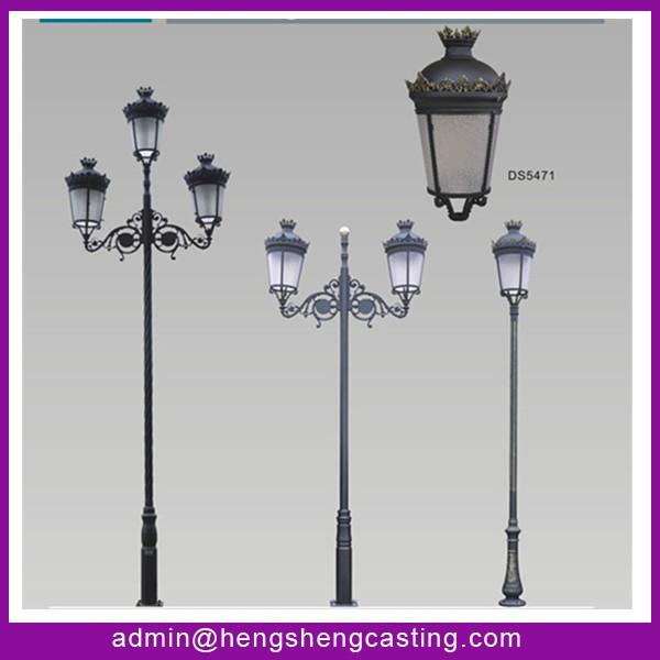 Classic Garden Lighting Pole Light,Pole Street Light