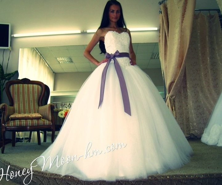 Perfect Wedding Dresses With Purple Detail Dress Ideas And White