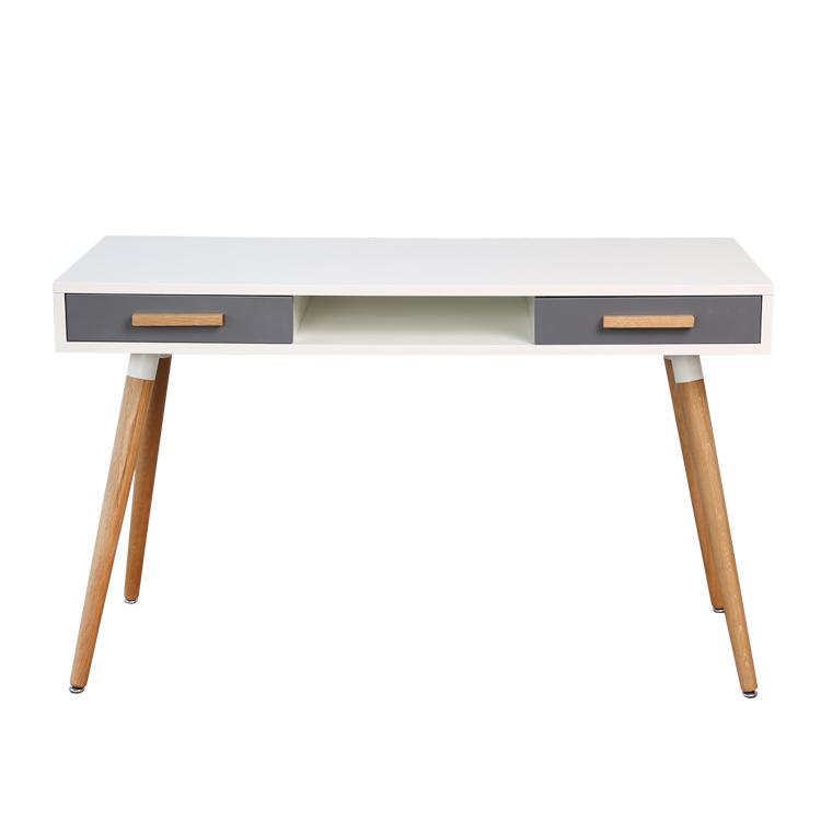 Scandinavian furniture long cheap computer desk for sale