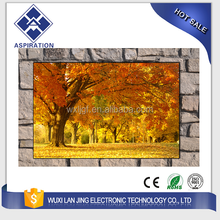 infrared heating panel with UV painting