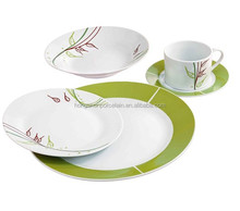 Wholesale Cheap ceramic dish direct factory porcelain dishes set