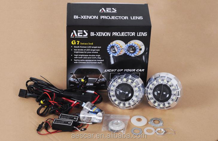 Aes G7 Led Lotus Hid Projector Lens Auto Lighting Accessories Wth ...