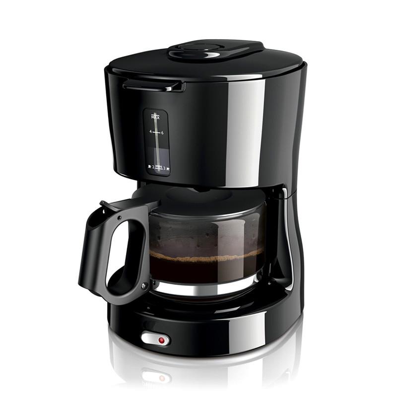 Домашняя Автоматическая капельная Кофеварка, чайник, капельная Кофеварка, кафе, американский(Китай)