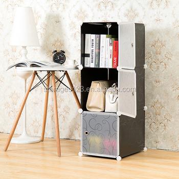magical folding bookcase clear plastic box - Folding Bookcase