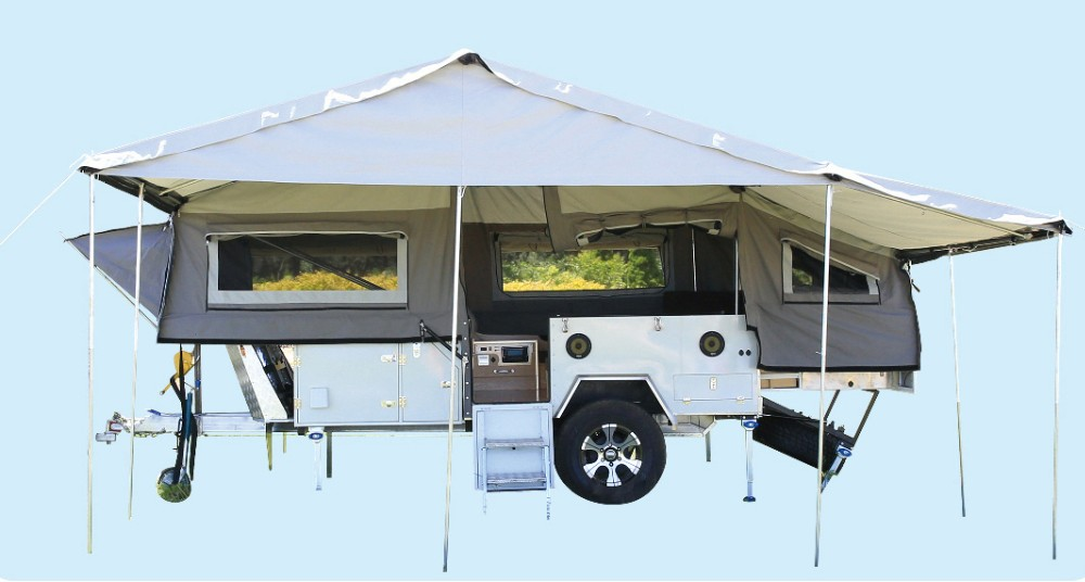 2017 newest off-road camper trailer for sale