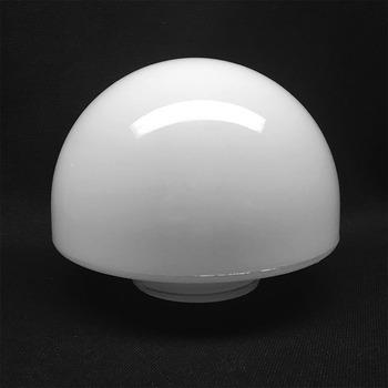 Half Round White Gl Lamp Shade