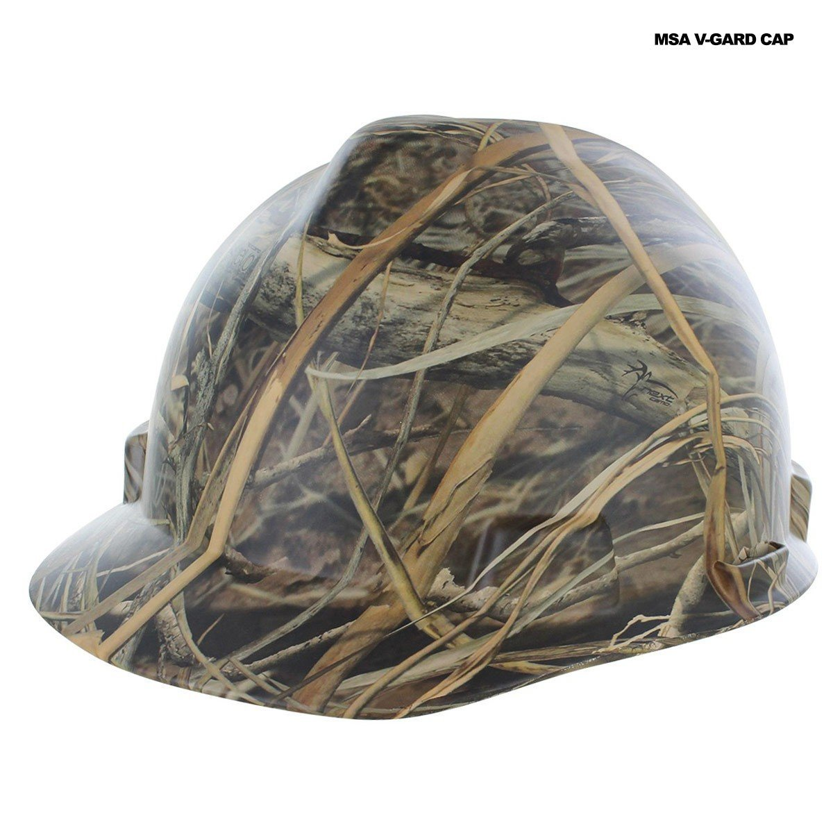 Rugged Blue Custom Hydro Dipped Next Camo EVO Hard Hat MSA V-Gard Staz-On Cap
