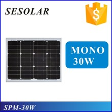 6v 12v 20w 5w 10w 30w 40w 50w 60w small size solar panel with micro inverter