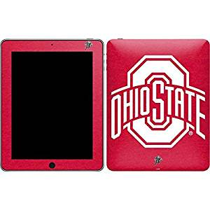 Ohio State University iPad Skin - OSU Ohio State Buckeyes Red Logo Vinyl Decal Skin For Your iPad