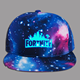 Most welcomed fashion cotton starry sky fortnite baseball cap