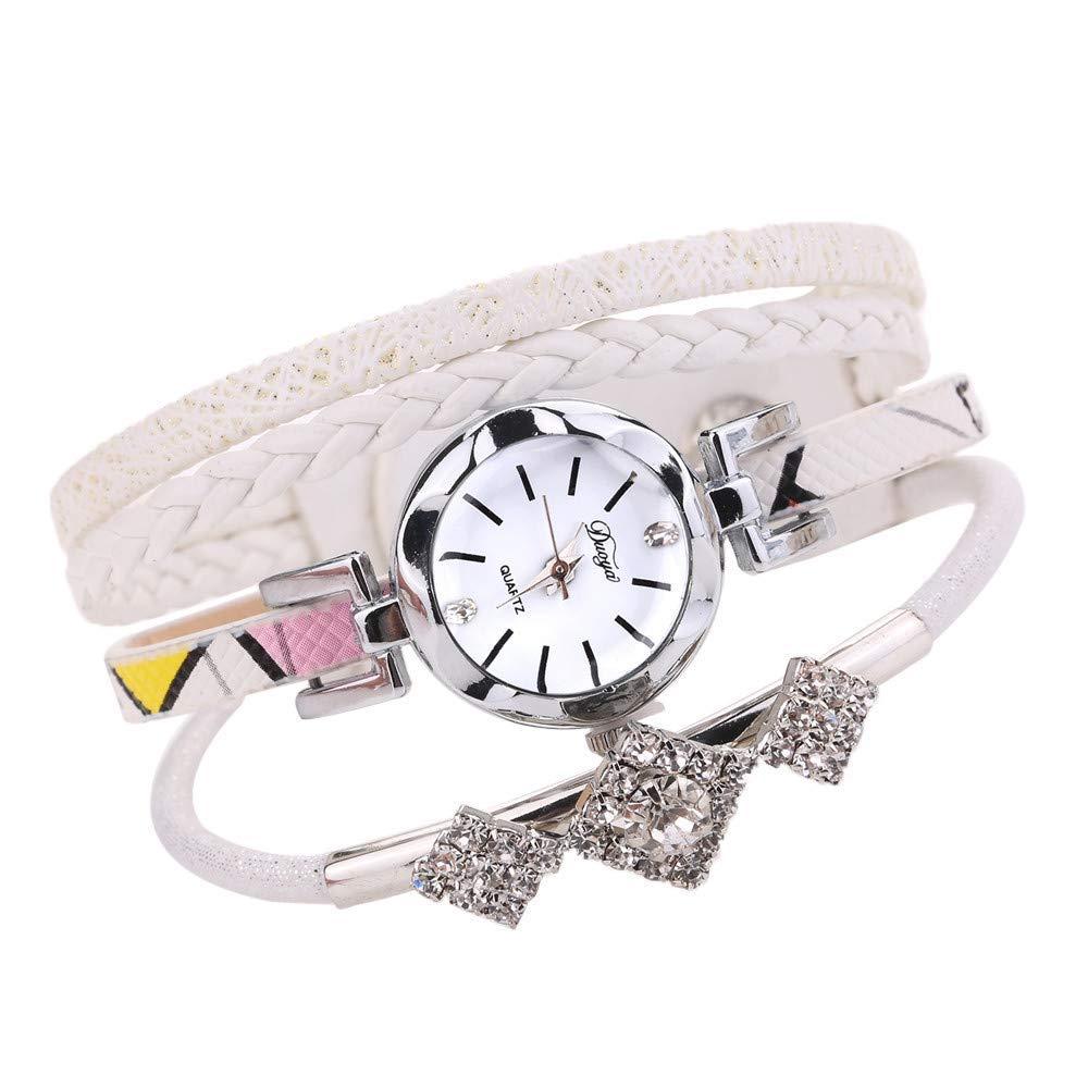 AKwell Women Jewelry Popular Quartz Watch Luxury Bracelet Lady Gift Flower Gemstone Wristwatch Fashion Jewelry Watches Bracelet Wristband New