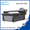 UV flatbed printer on glass pvc id card deep photo printing machine, dx5 printhead printers made in China