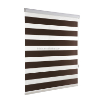 100% Polyester Fabric zebra roller blinds for home or office decoration