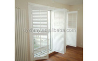 White And Colorful PVC Ventilation Window Shutters