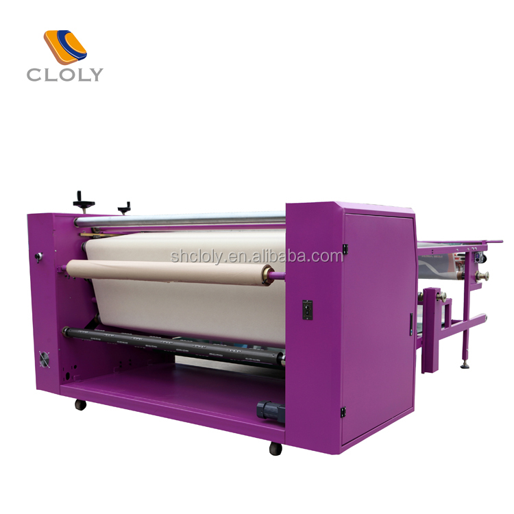 oil system blanket auto correct garment printing tshirt printing Large format roll to roll machine sublimation heat press