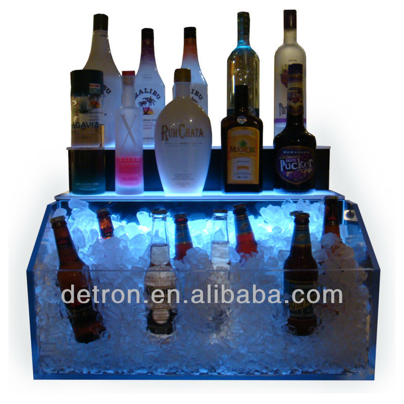 Modern-design liquor shelf