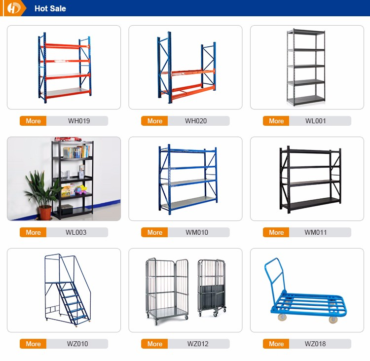 Attic shelf attic ladder heavy duty logistics shelf metal storage rack showcase warehouse rack shelf