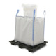 Virgin PP ton bag 1 ton jumbo bulk bag for sand cement and chemical