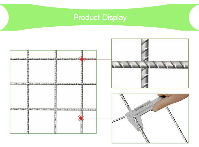 Galvanized Steel A142 Mesh Concrete Slab Reinforcement