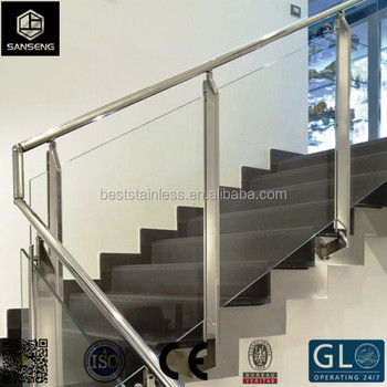 Brushed Finish Stainless Steel Wall Mounted Handrail Brackets/ Staircase  Handrail Design   Buy Handrail Bracket,Glass Railing Fittings,Railing  System ...