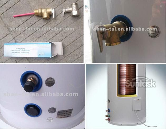 Split solare serbatoio di acqua calda buy product on for Serbatoio di acqua calda in rame