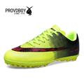 2016 New Design Turf Football Sports Training Breathable Shock Absorption Football Shoes Men Boy Kids Soccer