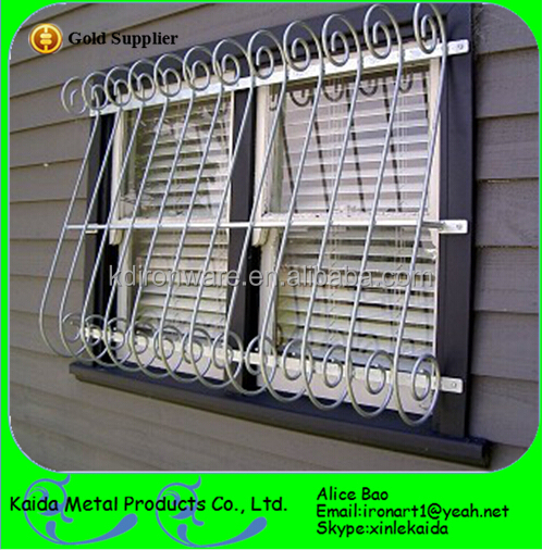 New design window iron grills decorative house window for Window design pakistan