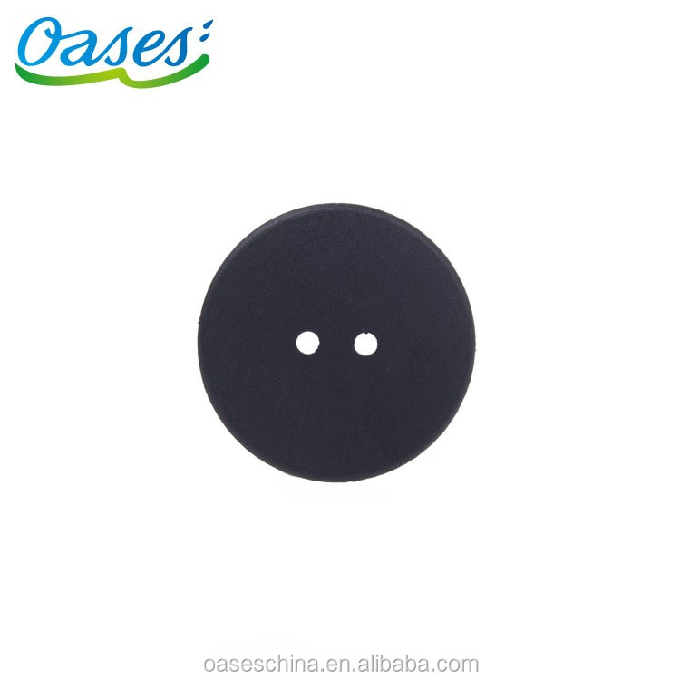 PPS passive round clothes laundry rfid tag with two holes