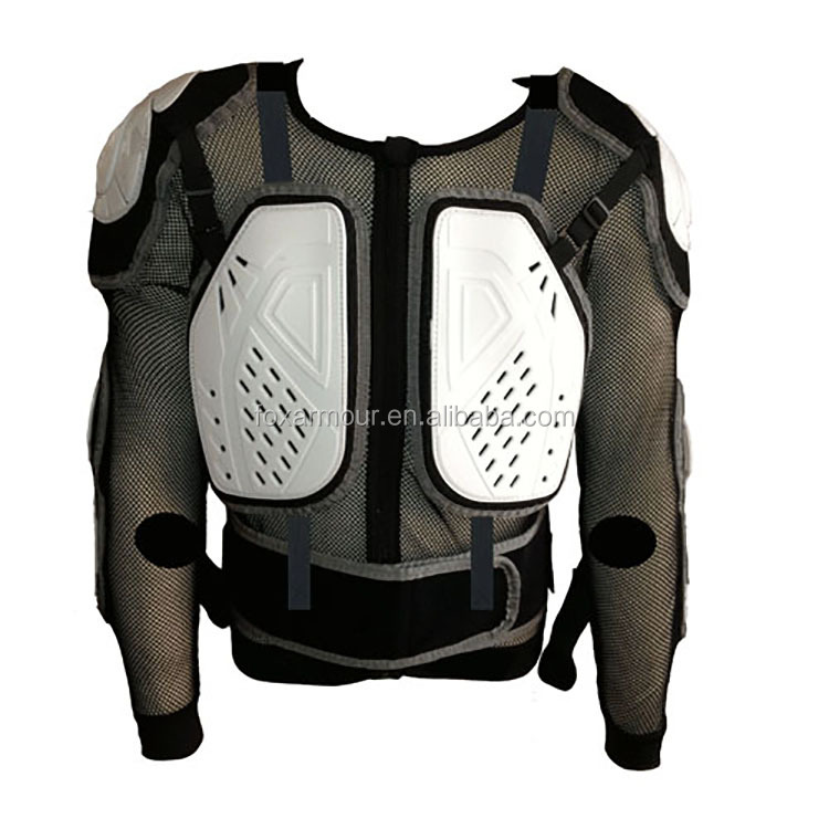 Elbow Protectors Back Safety Mesh Motocross Body Armour