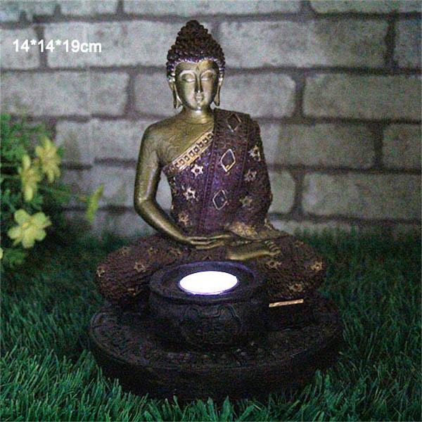 Neue ankunft solar buddha garten dekoration licht f r verkauf resin kunsthand - Statue exterieur pas cher ...